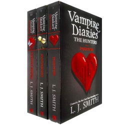 Vampire Diaries The Hunters Collection 3 Books Set by L J Smith - Book 8 to 10 - Phantom, Moonsong, Destiny Rising Photo