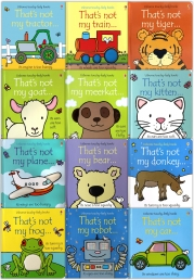 Thats Not My Toddlers 12 Books Collection Set Pack Fiona Watt by Fiona Watt, Rachel Wells