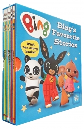 Bing Bunny 10 Books Ted Dewan Favourite Stories Box Set As Seen on TV Photo
