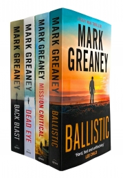 Mark Greaney Gray Man Trilogy 4 Books Collection Set Photo