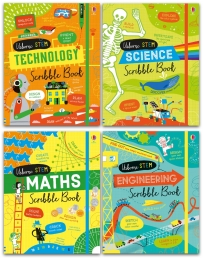 Usborne Stem Series 4 Books Collection Set Photo