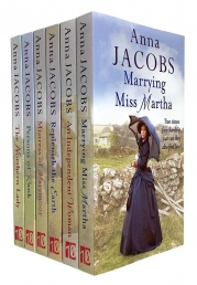 Anna Jacobs Collection 6 Books Set - The Northern Lady, Persons of Rank, Marrying Miss Martha, Mistress of Marymoor, Replenish the Earth and More Photo