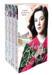 Anna Jacobs Kershaw Series Collection 4 Books Set - Our Lizzie, Our Eva, Our Polly and Our Mary Ann Photo