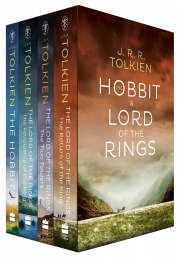 The Lord Of The Rings The Hobbit 4 Books Collection Box Set Photo