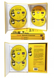 Talk Spanish Complete (2 Book/4 CD Pack/ 1 Grammar Guide) Photo