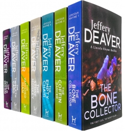 Lincoln Rhyme Thrillers Series Books 1 - 7 Collection Set by Jeffery Deaver Photo
