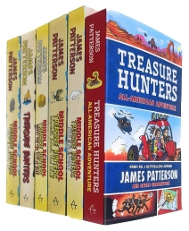 Treasure Hunters Middle School Series 1-6 Books Collection Set By James Patterson Photo
