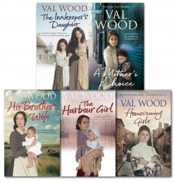 Val Wood Family Sagas 5 Books Collection Set Pack Photo