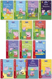 Peppa Pig Read It Yourself with Ladybird 14 Books Children Collection Set for Level 1 and 2 Photo