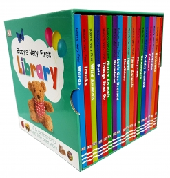 Baby Very First Library 18 Board Books Box Set Photo