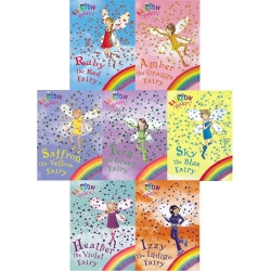 Rainbow Magic Series 1 Colour Fairies Collection 7 Books Set by Daisy Meadows