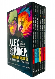 Alex Rider Collection 6 Graphics Books Set By Anthony Horowitz