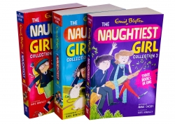 Enid Blyton The Naughtiest Girl 3 Book Set Full Collection (10 in 3 Books) Photo