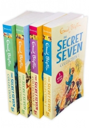 Enid Blyton The Secret Seven 12 Story Collection in 4 Books Photo