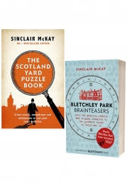 The Scotland Yard Puzzle Book & Bletchley Park Brainteasers By Sinclair McKay 2 Books Collection Set Photo