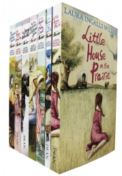 Little House on the Prairie Series 7 Books Collection by Laura Ingalls Wilder Photo