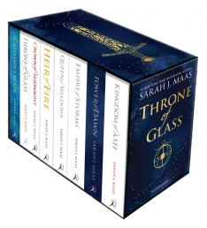 Throne Of Glass Series Collection 8 Books Box Set By Sarah J Maas