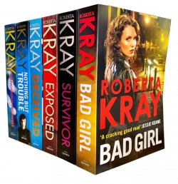 Roberta Kray 6 Books Collection Set (Survivor, Nothing but Trouble, Exposed, Deceived, Bad Girl, Dangerous Promises) Photo
