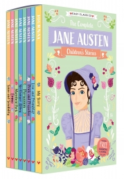 The Complete Jane Austen Childrens Collection 8 Books Set Photo