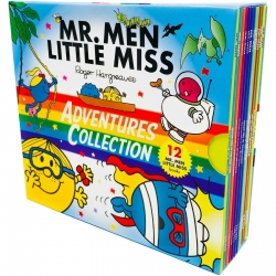 Mr. Men & Little Miss Adventures Collection 12 Books Box Set by Roger Hargreaves Photo