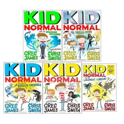 Kid Normal Series 5 Books Collection By Greg James and Chris Smith Photo