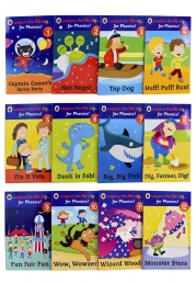 Ladybird I'm Ready for Phonics 12 Books Children Collection Set Level 1 to 12 Photo