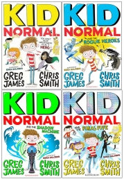 Kid Normal Series 4 Books Collection By Greg James and Chris Smith Photo