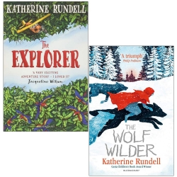 The Explorer and The Wolf Wilder By Katherine Rundell 2 Books Collection Set Photo