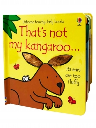 Thats Not My Kangaroo Touchy-Feely Board Books Photo
