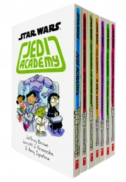 Star Wars Jedi Academy 7 Books Collection Set