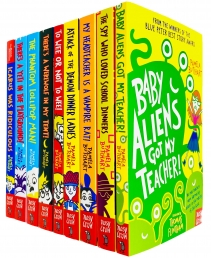 Pamela Butchart Collection Baby Aliens Series 9 Books Set Photo