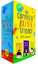 The Complete Beetle Trilogy 3 Books Collection by M. G. Leonard Photo