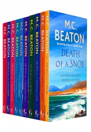 M C Beaton Hamish Macbeth Series 10 Books Collection Set Photo