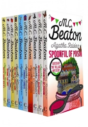 Agatha Raisin 10 Books Collection Set Series 2 By M C Beaton Photo
