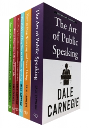 Dale Carnegie Personal Development 6 Books Collection Set Photo