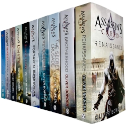 Assassins Creed Official 10 Books Collection Set By Oliver Bowden Photo