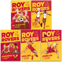 Roy of the Rovers Graphic Novel 5 Books Collection Set Photo