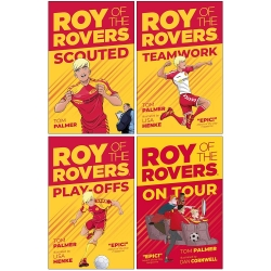 Roy of the Rovers Fiction Collection 4 Books Set By Tom Palmer Photo