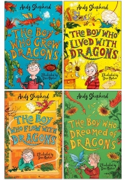 The Boy Who Grew 4 Books Collection Set by Andy Shepherd Photo