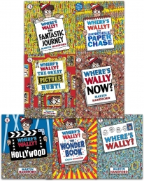 Where's Wally Amazing Adventures 7 Books Collection Set Photo