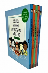 Little People, Big Dreams Inspiring Artists and Writers Gift 5 Books Box Collection Set Photo