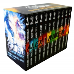 Alex Rider Collection 11 Books Box Set by Anthony Horowitz Photo