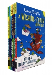Enid Blyton The Wishing Chair Adventure 6 Books Collection Set Photo