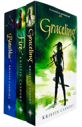 Graceling Realm Series 3 Books Complete Collection Set by Kristin Cashore (Graceling, Fire, Bitterblue) Photo
