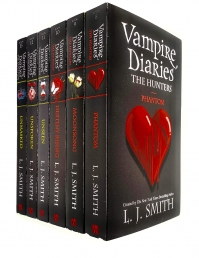 Vampire Diaries Complete Collection 6 Books Set by L. J. Smith Photo