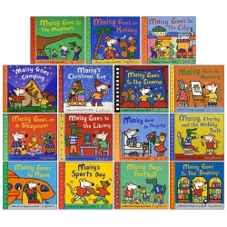 Maisy Mouse First Experience 15 Books Pack Collection Set by Lucy Cousins Photo