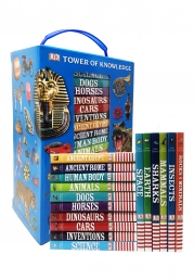 DK Tower of Knowledge 16 Mini Fact Filled Encyclopedias Collection for Childrens Photo