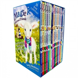 Magic Animal Friends Enchanted Animals Collection 16 Books Box Set by Daisy Meadows (Series 1 - 4) Photo