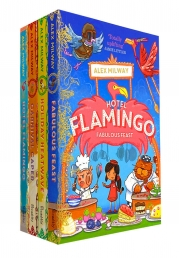 Hotel Flamingo Series 4 Books Collection Set Pack By Alex Milway Fabulous Feast Photo