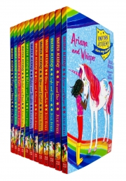 Unicorn Academy Where Magic Happens 12 Books Collection Set by Julie Sykes by Julie Sykes